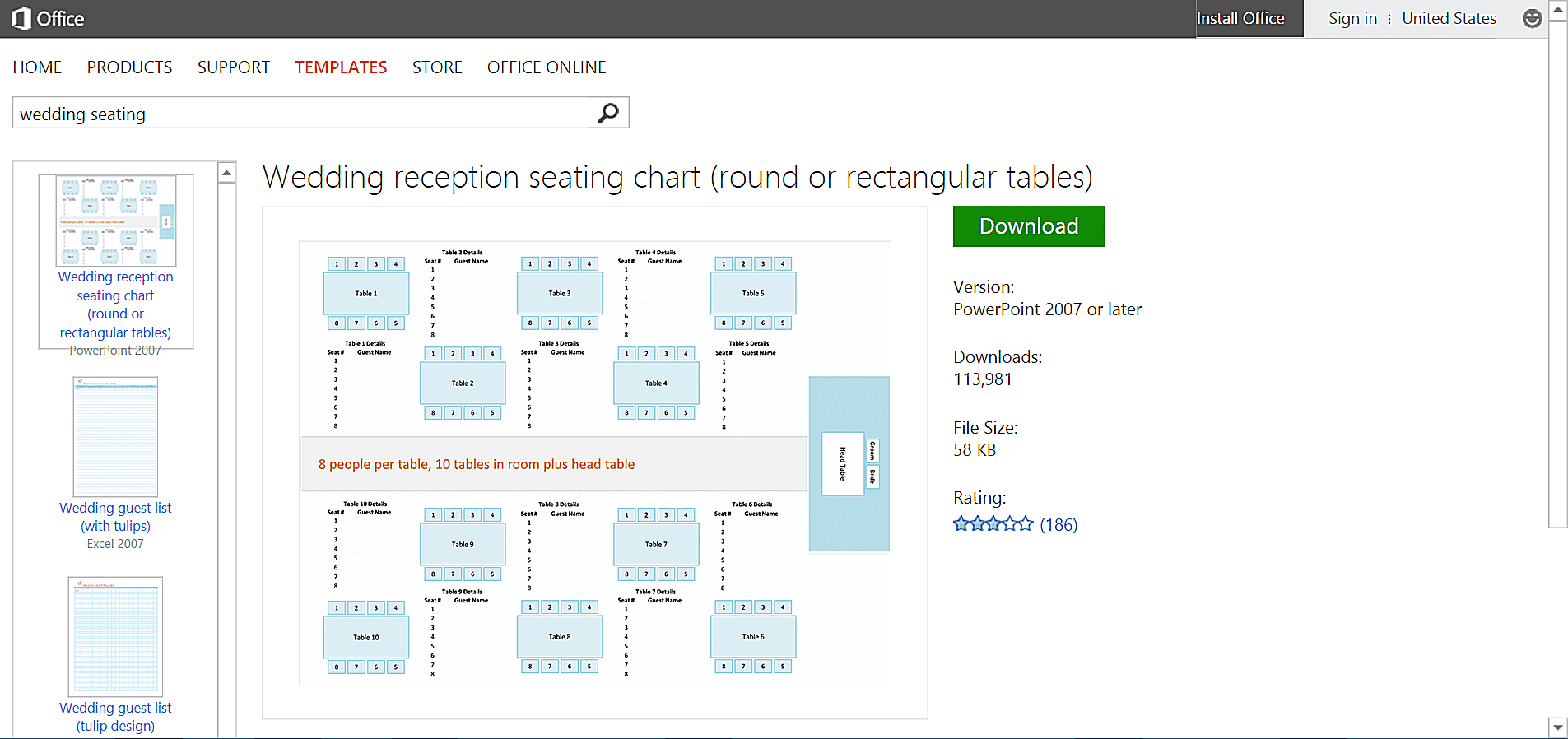 Make Wedding Planning Easier Using Microsoft Office – Seating Chart Template Word