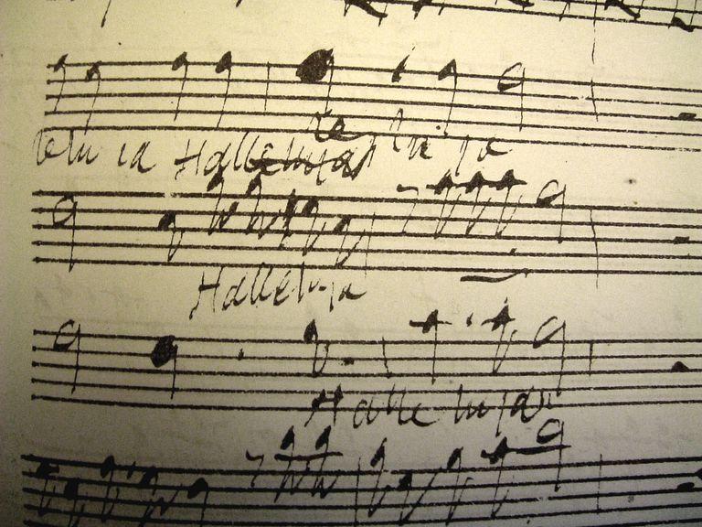 Handel in his own hand