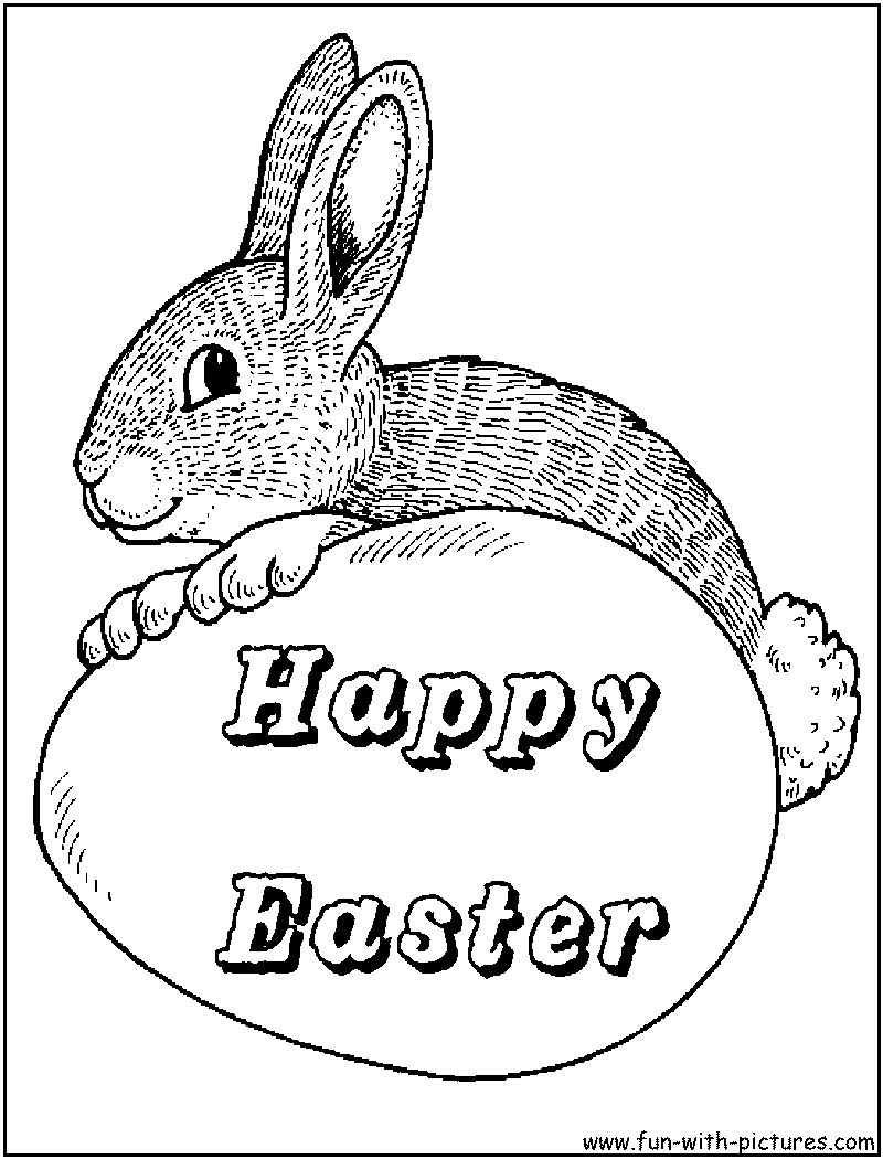 Coloring pages bunny - Coloring Pages Bunny 46