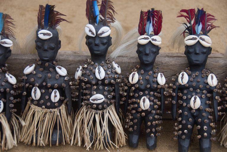 Togo African Fetish Dolls