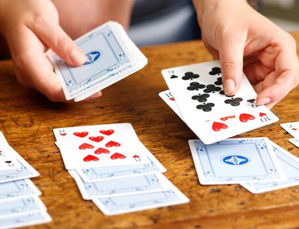 solitaire card games rules pdf
