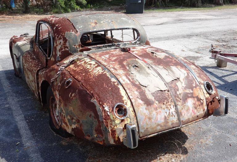 1956 Jaguar XK140 Fixed Head Coupe