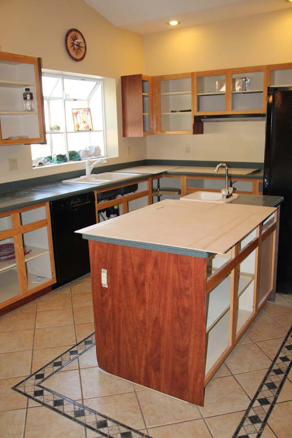 Cabinet refacing before and after for Cabinets before and after