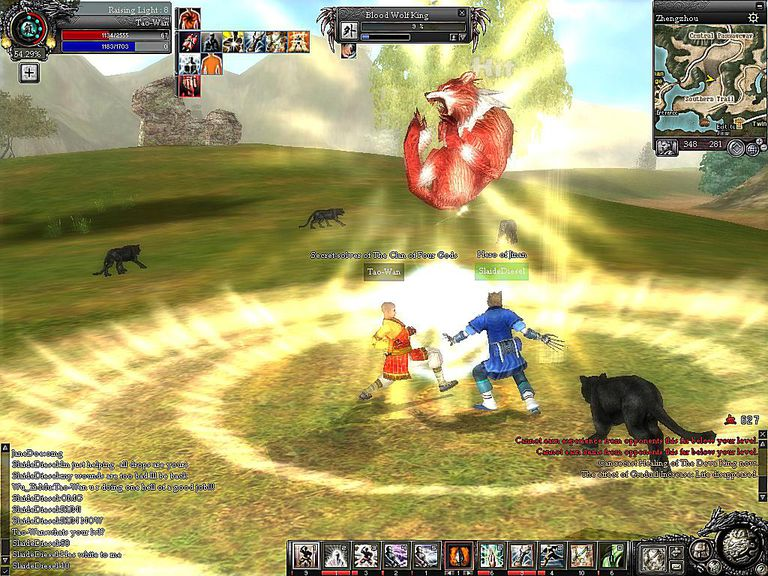 Genre: Massively Multiplayer Online Role Playing Game Theme: Martial Arts  Nine Dragons, form is the martial arts themed massively multiplayer online  role ...