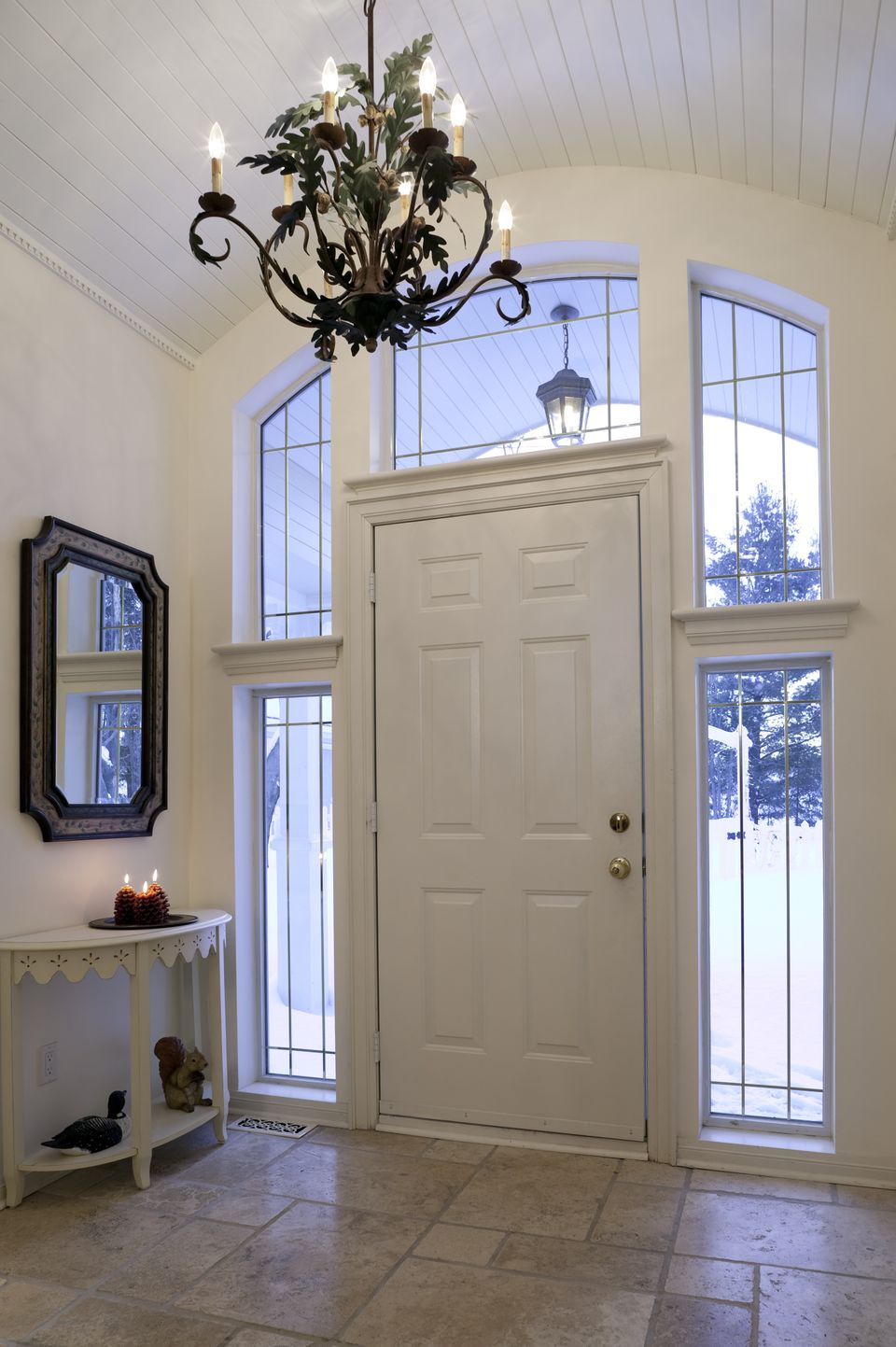 Foyer Light Over Table : Determine the right height for your foyer chandelier
