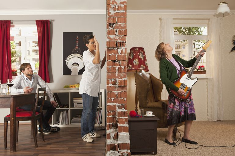 Noisy neighbors can be stressful.