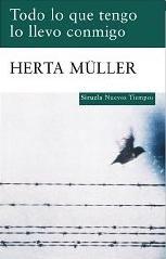 Todo lo que tengo lo llevo conmigo, novela de Herta Muller