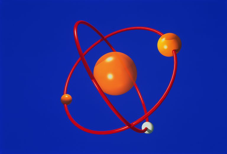 Illustration of an atom