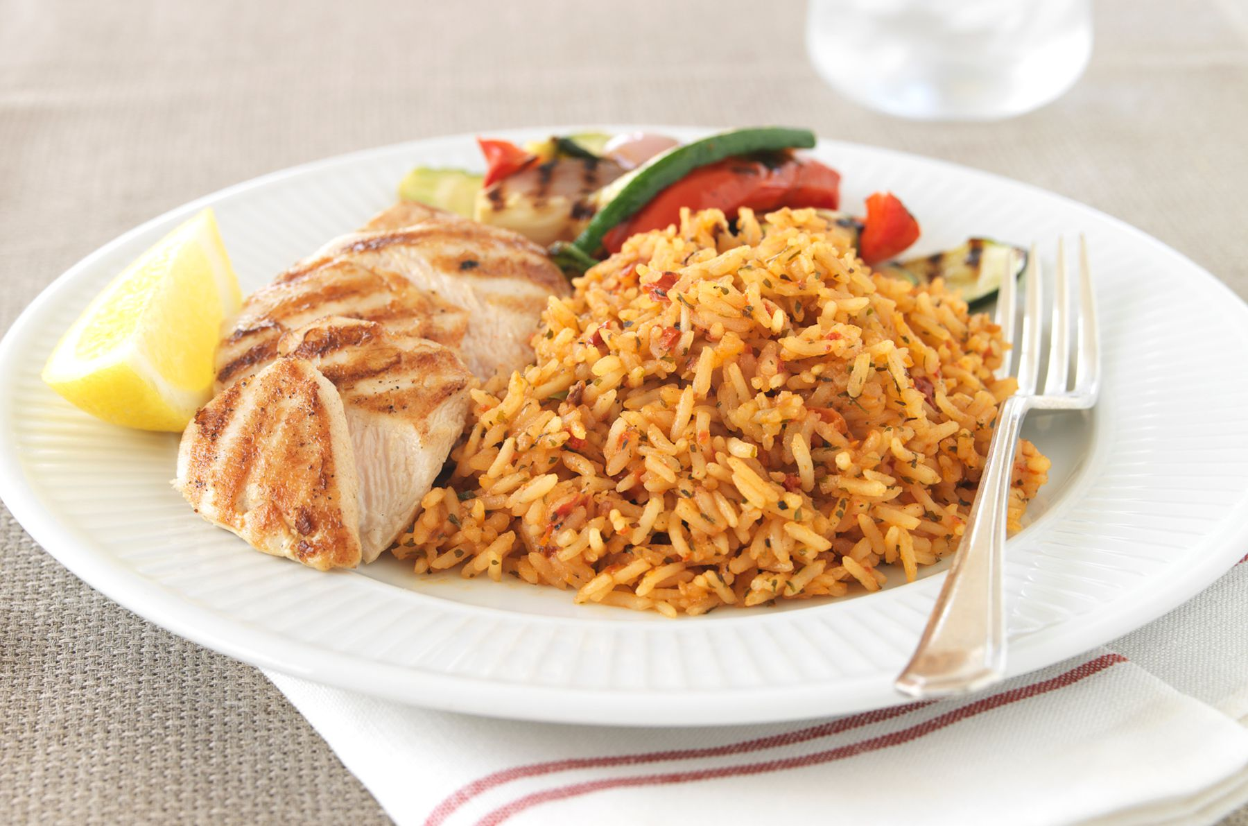 How to make basic mexican red rice or spanish rice spanish rice with a southern twist ccuart Choice Image