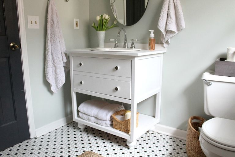 vintage looking bathroom vanity. Vintage Style Bathroom Vanity From Build Something 11 DIY Plans You Can Today