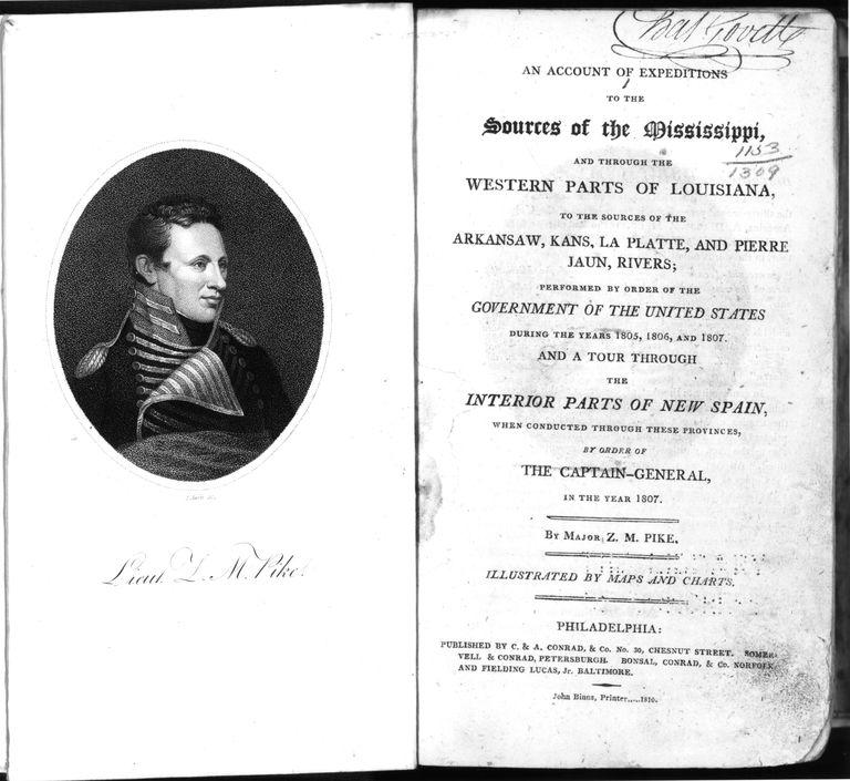 The memoirs of Zebulon Pike