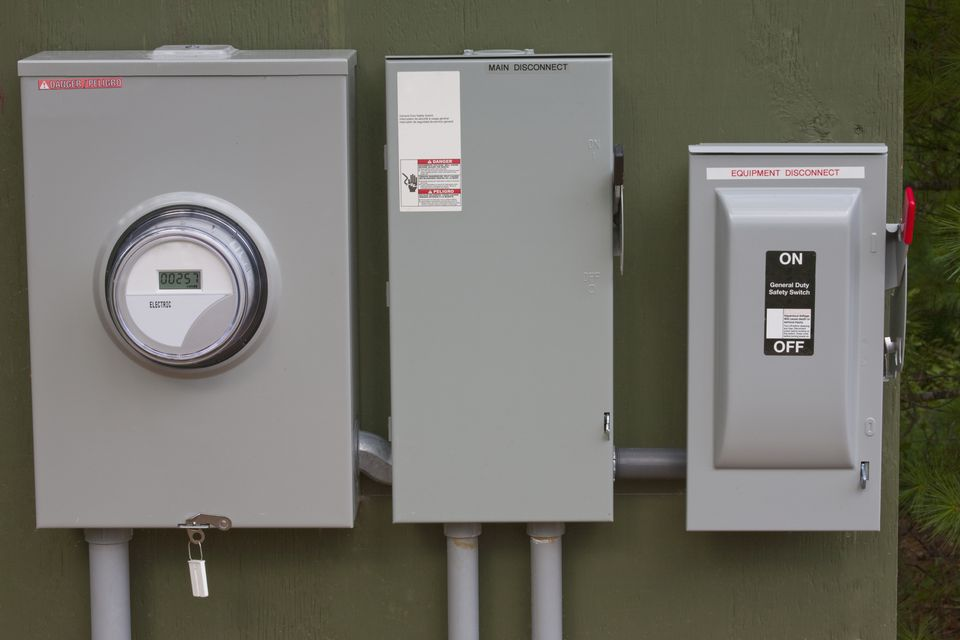 Two Electrical Panels On One Meter