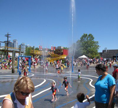 vancouver water parks: granville island water park