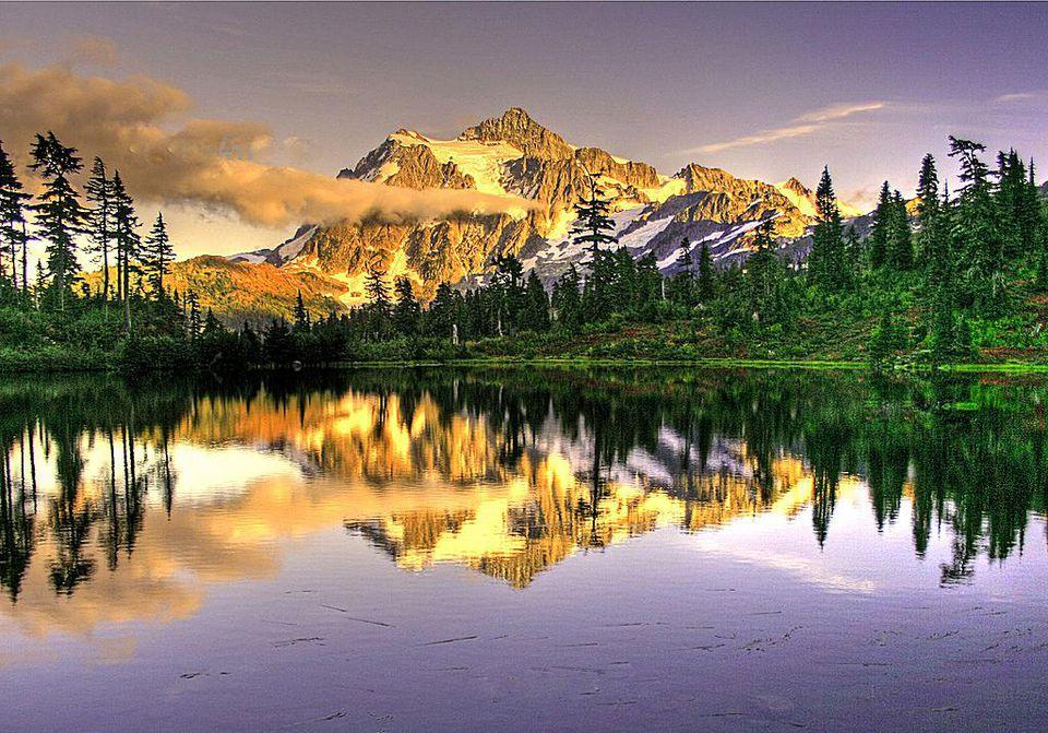 Mt. Shucksan, North Cascades, Washington