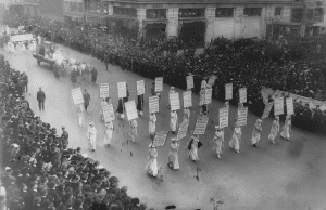 Suffrage March - New York City 1913