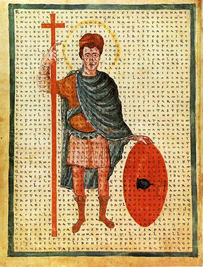 Louis the Pious as a miles Christi