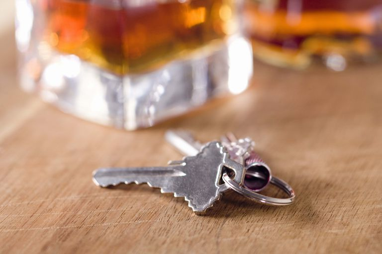 Keys and a Whisky Glass