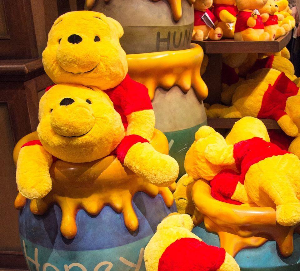 Winnie the Pooh Hunny Pot Game