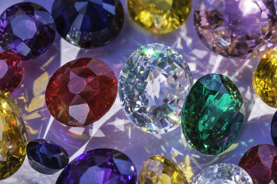 Gemstones.