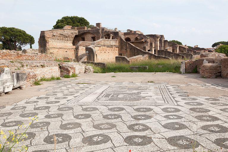 Ostio Roman ruins