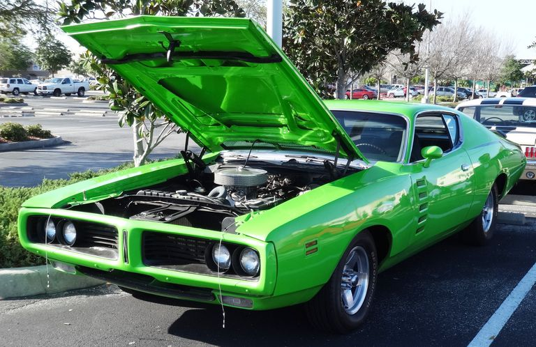 1971 Dodge Charger in Sassy Green