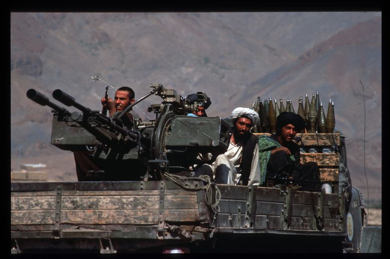 Taliban Militia Threatened By Opposition