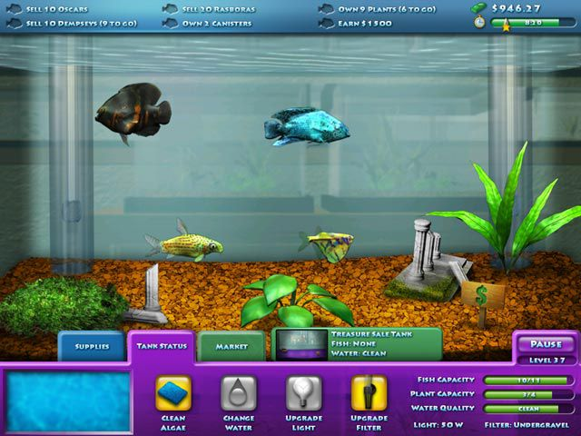 Fish games pc about sim games for Fish breeding games