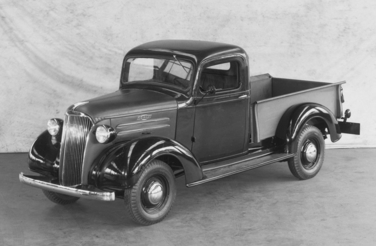 Chevy Trucks History: 1918 - 1959