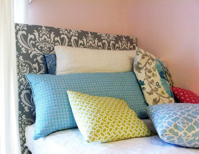 Diy Dorm Room Headboard