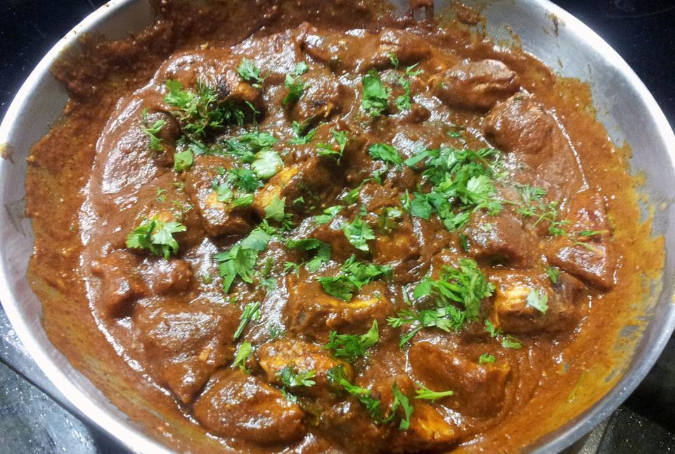 Chicken tikka in a masala sauce