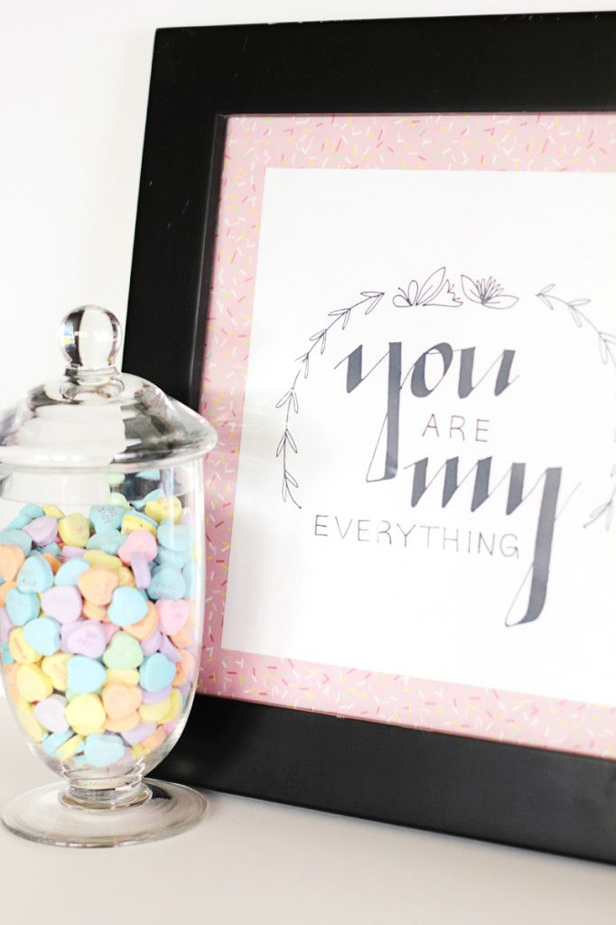 DIY You Are My Everything Art