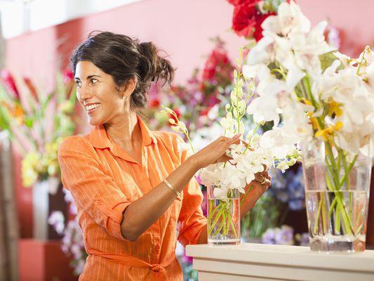 flower shop owner