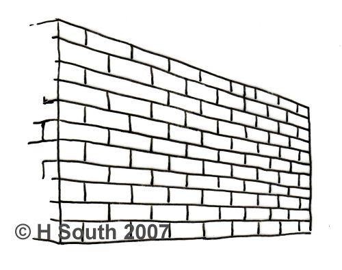 Simple Linear Brick Pattern