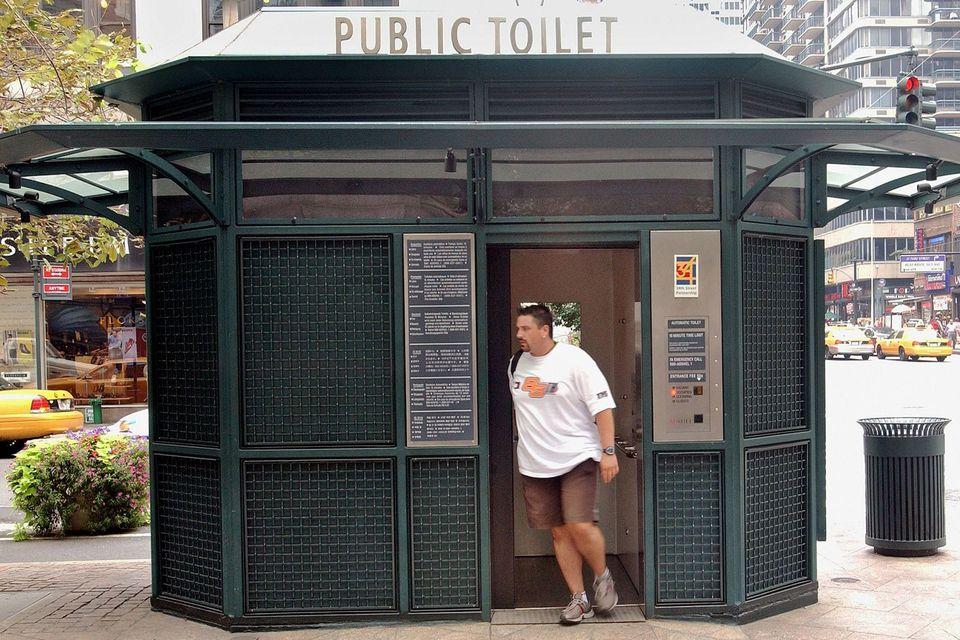 NYC public restroom