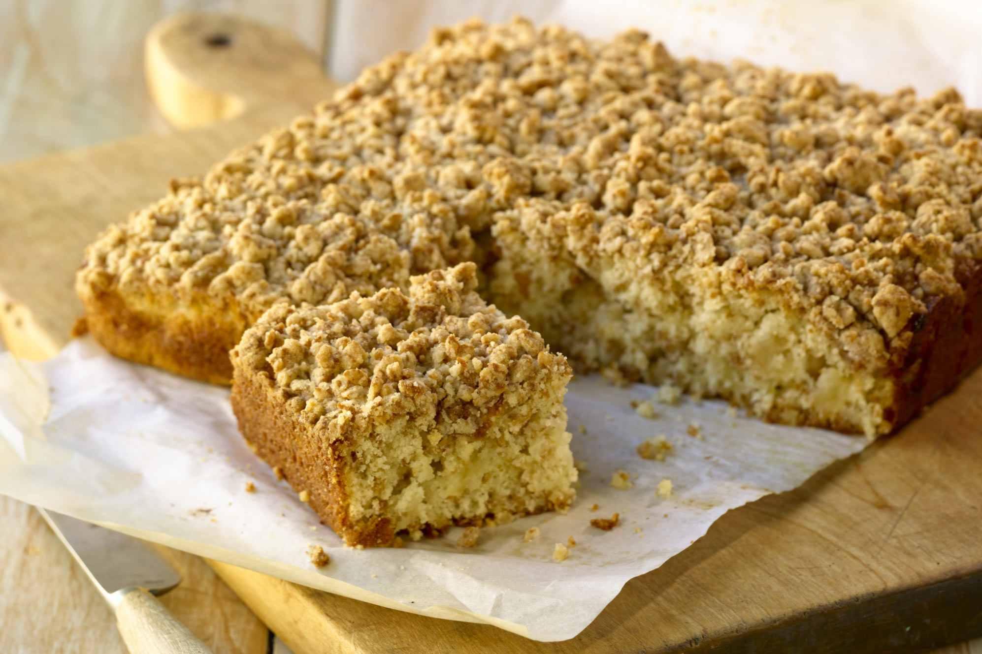 recipe: buttermilk streusel coffee cake [10]