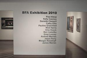 University Art Gallery at Sonoma State University in CA.