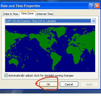 Change The Date And Time Zone On Windows Laptop - Time change map us