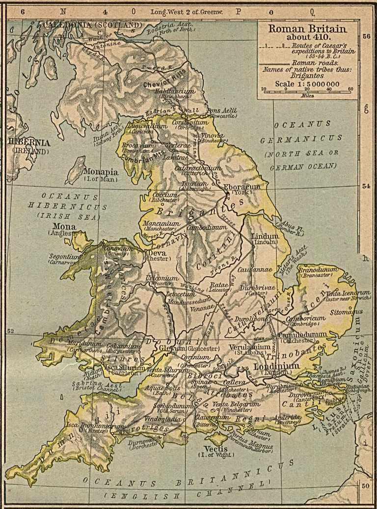 Roman Britain c. 410 A.D.