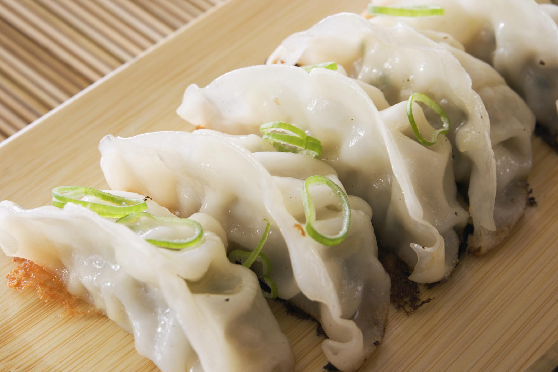 Chinese Pork Dumplings Or Potstickers Recipe