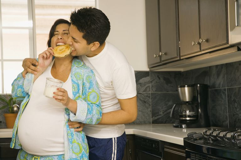 Not all cravings in pregnancy are junk food.
