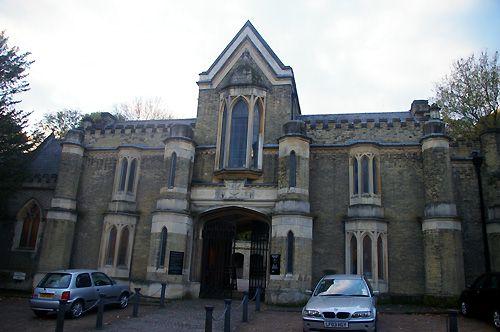 Highgate Cemetery Entrance, West Cemetery, Highgate Cemetery London