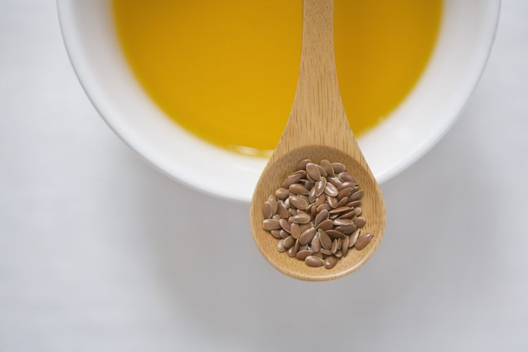 Flax seeds and oil are high in omega-3 fatty acids.