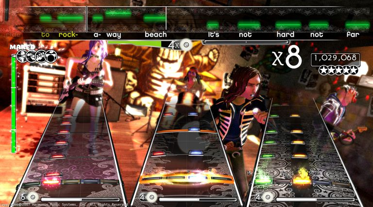 Rock Band Screenshot (PS3)