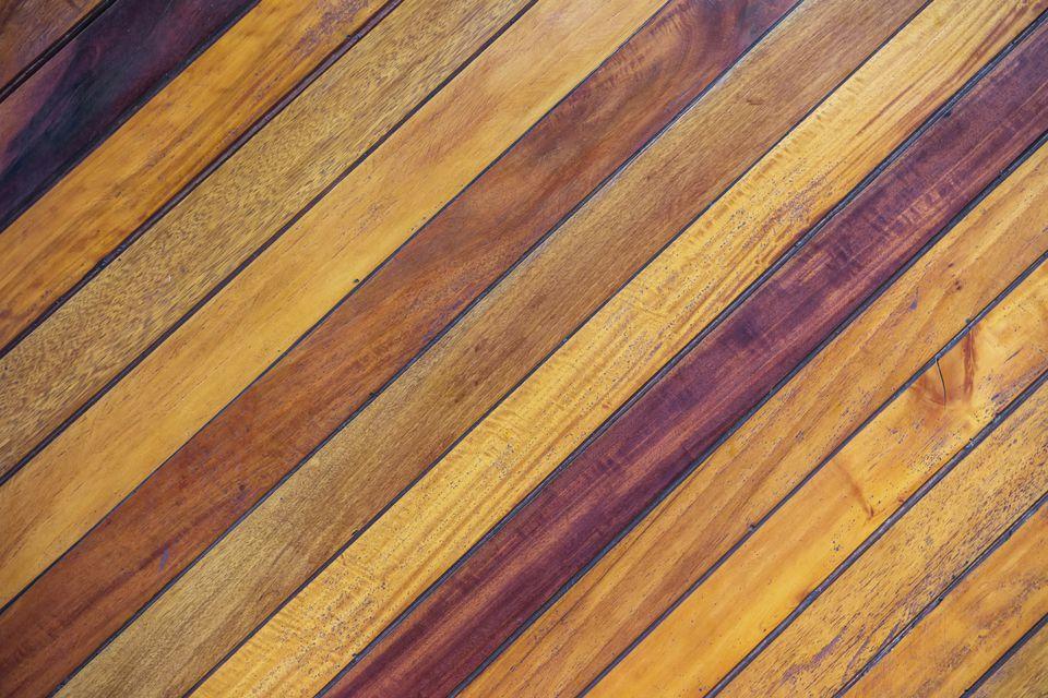 Uneven Wooden Flooring