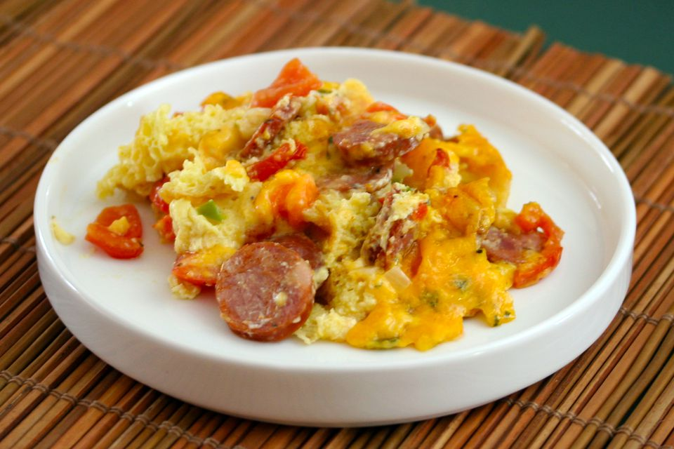 Poblano and Turkey Sausage Casserole recommend