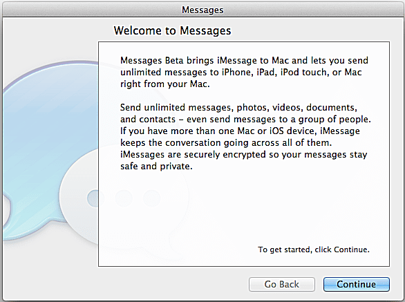 How to Create a Messages for Mac Account