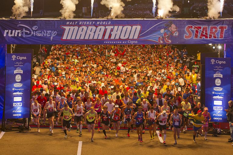 Walt Disney World Marathon Start
