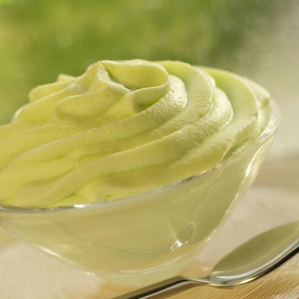 Pistachio pudding