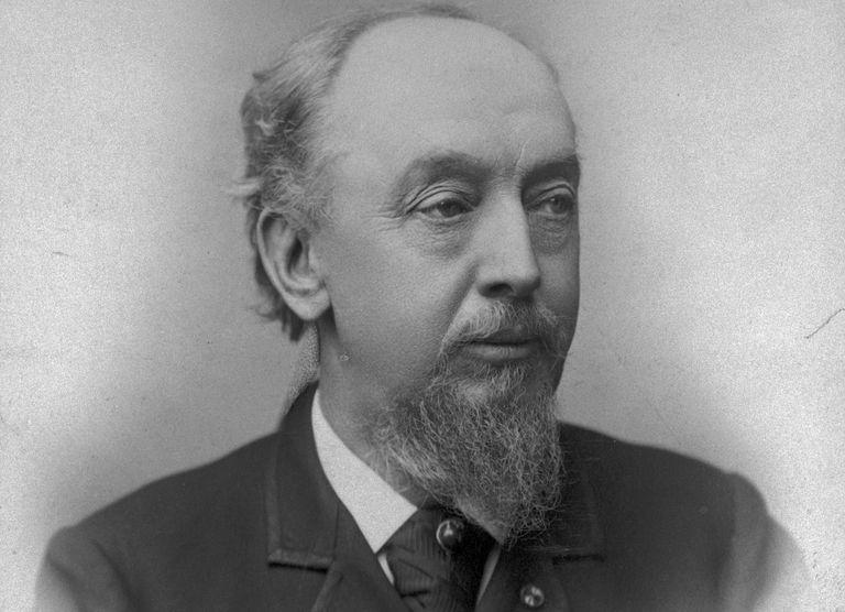 American skyscraper architect William Le Baron Jenney, c. 1885