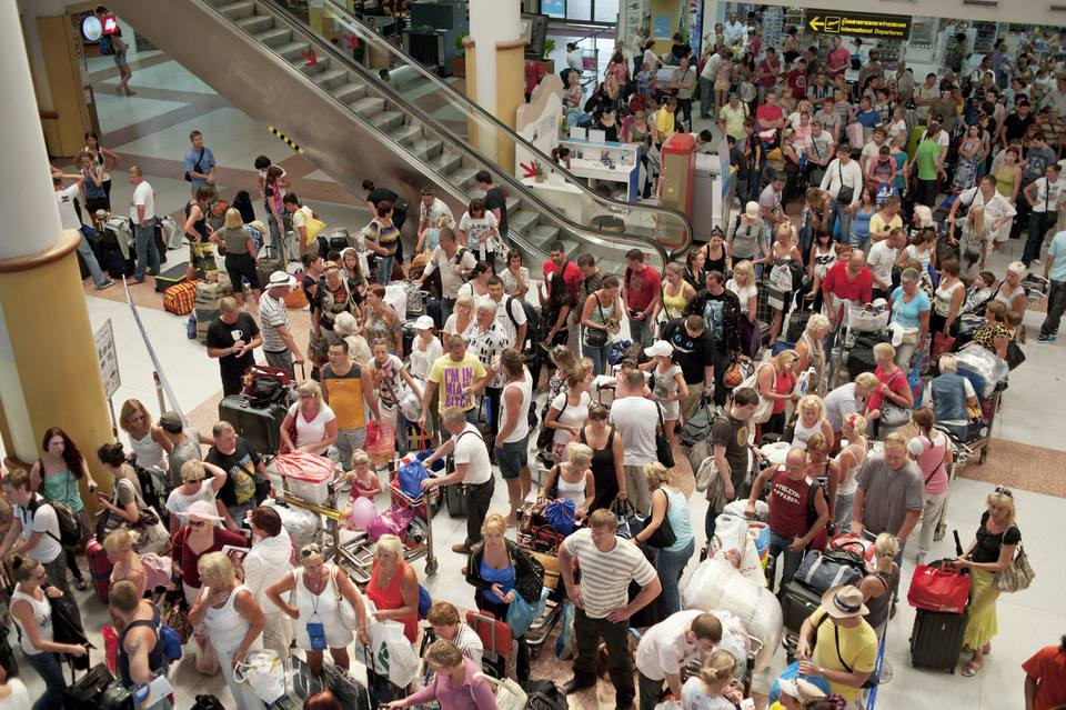 Crowded Terminal